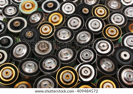 Many brushless electric motors from cd and dvd drives