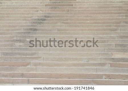 Many cement steps suitable for architectural backgrounds - stock photo