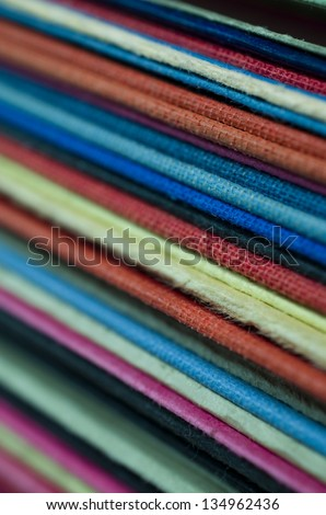Many colorful Files - stock photo