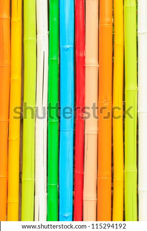Many colour bamboo can use background