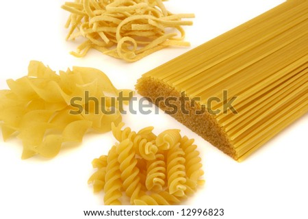 Many noodles