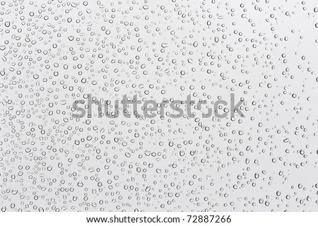 Many water drops on background - stock photo