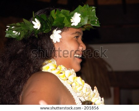 Maori Party Girl