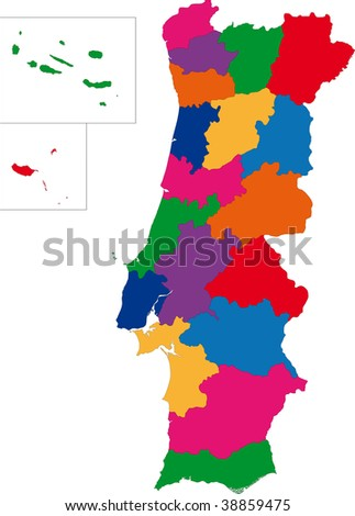 Map Republic Guatemala Departments Stock Vector - Departments map of guatemala