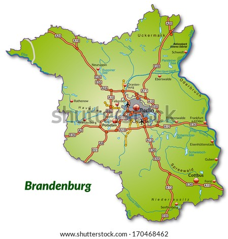 Cottbus Map Stock Images RoyaltyFree Images Vectors Shutterstock