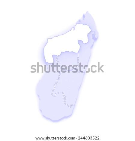 Map Mahajanga Madagascar 3d Stock Illustration 244603522 Shutterstock