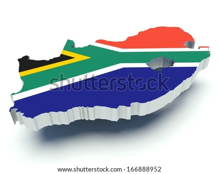 Southafrican Flag Stock Images RoyaltyFree Images Vectors