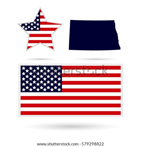 Us State On Us Map Wyoming Stock Vector 566223445 Shutterstock