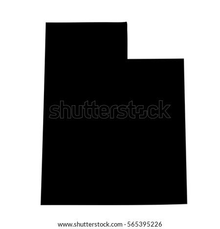 Map Of The U S State Of Utah