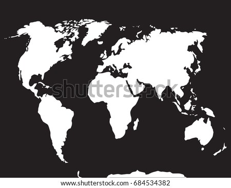 World map dark grey stock illustration 231092374 shutterstock map world black white atlas globe earth continent and ocean europe and countries gumiabroncs Images