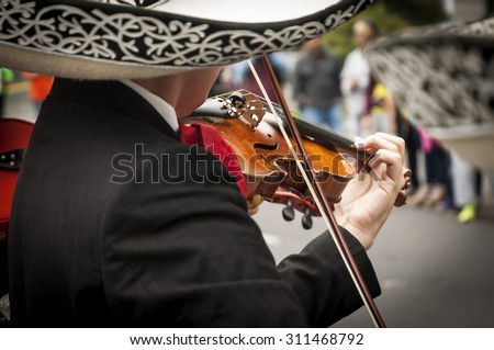 Marathon in Mexico CIty - stock photo