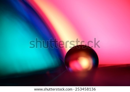 marble and pink blue background - stock photo