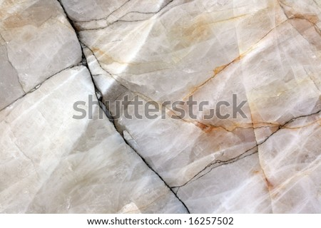 Marble background from a giant white rock