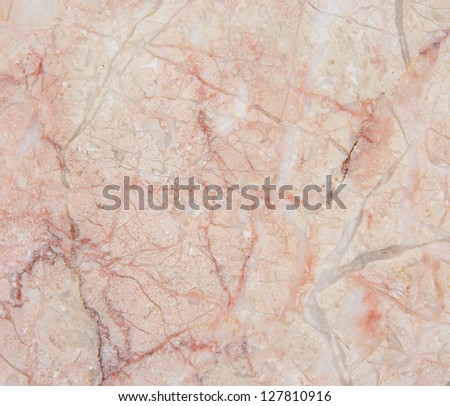 Marble background with natural pattern. Seamless soft pink marble. - stock photo