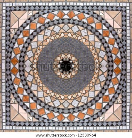 Marble mosaic background 2 - stock photo