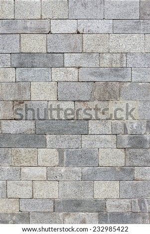 marble Old brick wall texture background - stock photo