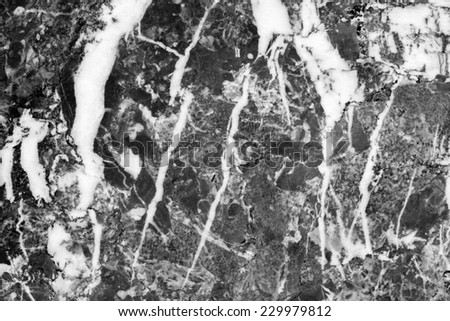 Marble patterned (natural patterns) texture background, abstract marble in black and white. - stock photo