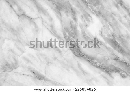 Marble patterned texture background. Marbles of Thailand, Black and white. - stock photo