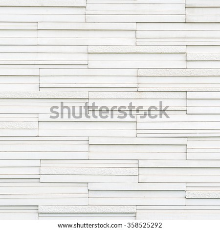 Marble rock tile wall w/ modern matte & polished detail patterned design for interior decoration: Granite tiled detailed pattern texture background in natural light pastel white gray color tone  - stock photo