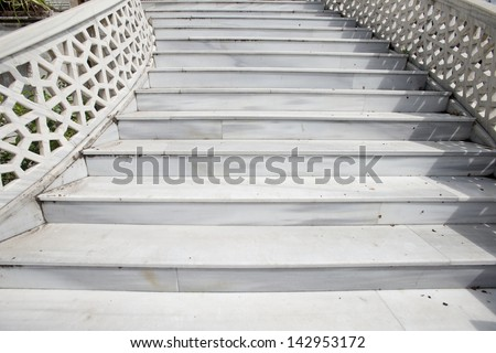 Delightful Marble Staircase