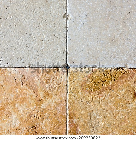 Marble stone tile background natural beige mable texture. - stock photo