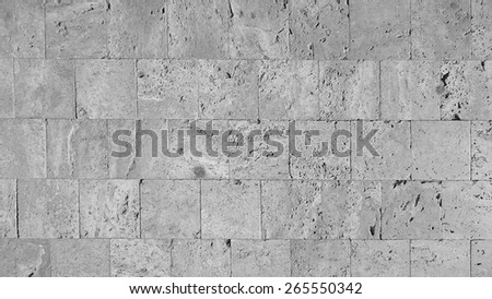 marble stone tiled floor - stock photo