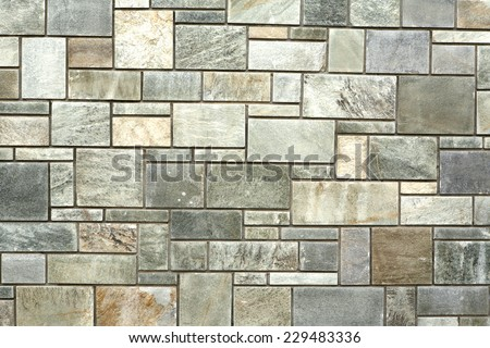 marble stone wall background - stock photo