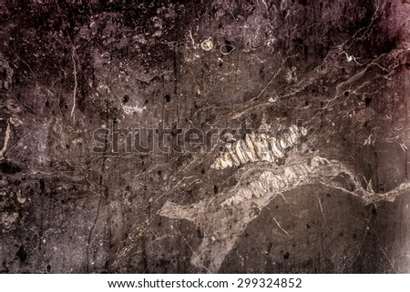 Marble texture background HDR process grunge style - stock photo