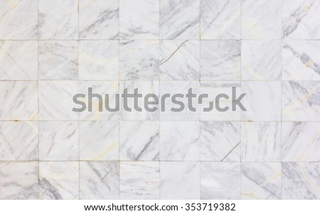 Marble tiles texture wall - Marble background - stock photo