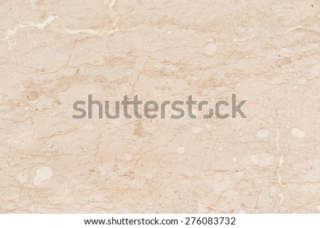 Marble with natural pattern. Beige marble background - stock photo