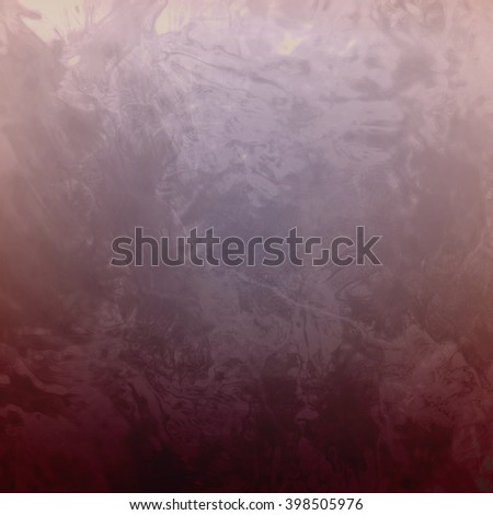 marbled textured background, glossy glass pattern of wavy texture shapes, pale blue pink color - stock photo