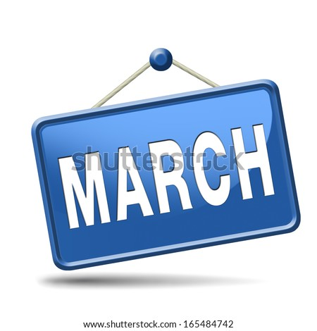 March to next month of the year early spring