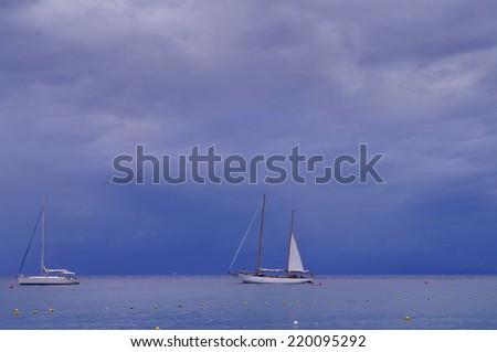 Marciana Marina bay, Elba Island, Tuscany, Italy - stock photo