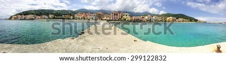 Marciana Marina, Elba Island - stock photo