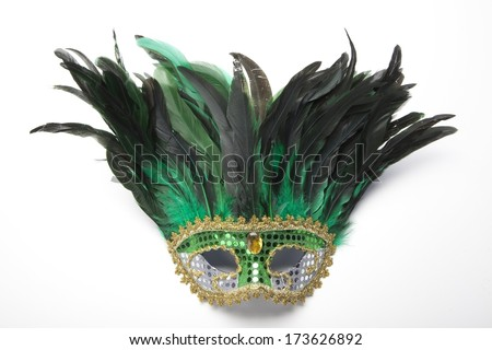 Mardi Gras Masks - stock photo