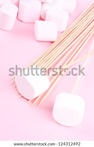 marhmallows - stock photo