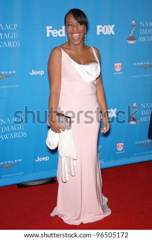 MARIANNE JEAN BAPTISTE at the 37th Annual NAACP Image Awards at the Shrine Auditorium, Los Angeles. February 25, 2006  Los Angeles, CA  2006 Paul Smith / Featureflash