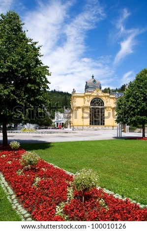 Marianske Lazne, Czech republic - stock photo