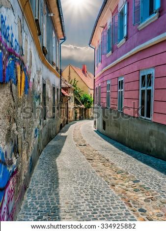 Maribor. City landscape. - stock photo