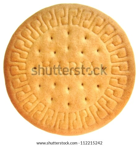 Marie biscuit - stock photo