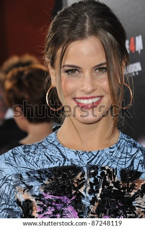 "Marielle Jaffe at the world premiere of ""Scream 4"" at Grauman's Chinese Theatre, Hollywood, April 11, 2011  Los Angeles, CA Picture: Paul Smith / Featureflash"