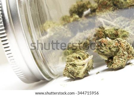 Marijuana and Cannabis, Legal Drug  - stock photo