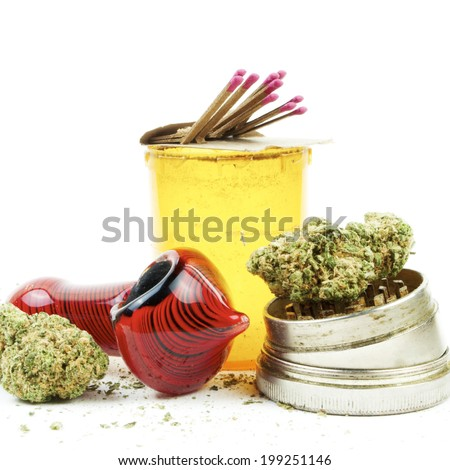 Marijuana and Cannabis Legalization - stock photo