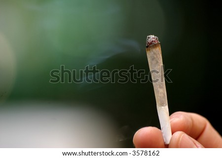 Marijuana cigarette #3 - stock photo
