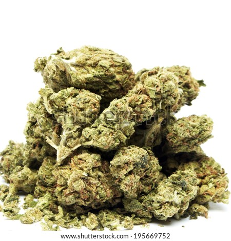Marijuana, Medical and Recreational Drug Use  - stock photo