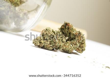 Marijuana & Weed  - stock photo