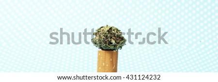 Marijuana Weed  - stock photo