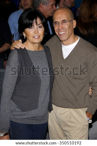 "Marilyn Katzenberg and Jeffrey Katzenberg at the Los Angeles Premiere of ""Megamind"" held at the Hollywood and Highland in Hollywood, California, United States on October 30, 2010."