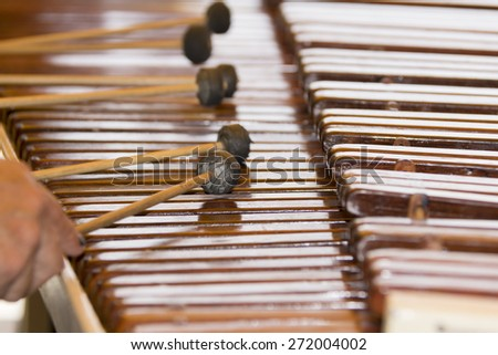 marimba, instrument, musical, music, background, wood, classical, sound, performance, concert, popular, percussion, mallet, symphonic, brown, object, traditional, creative, classic, entertainment - stock photo