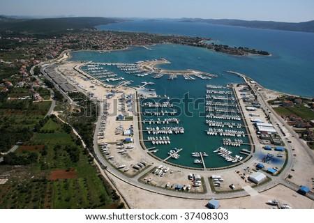 Marina Dalmacija, Sukosan, Zadar - stock photo
